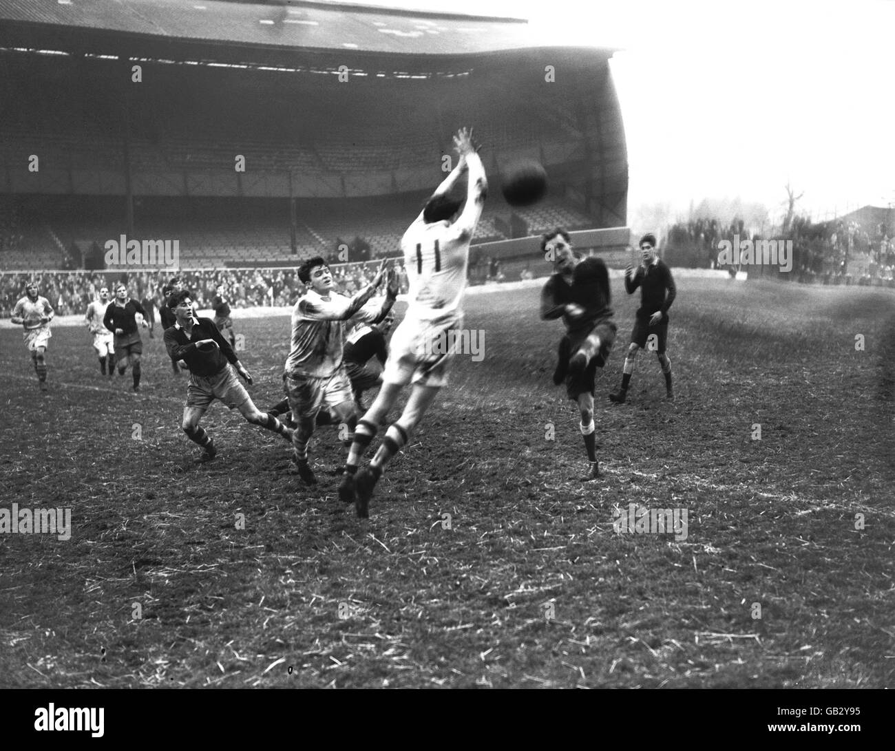 Rugby Union - England v The Rest - Twickenham - Stock Image