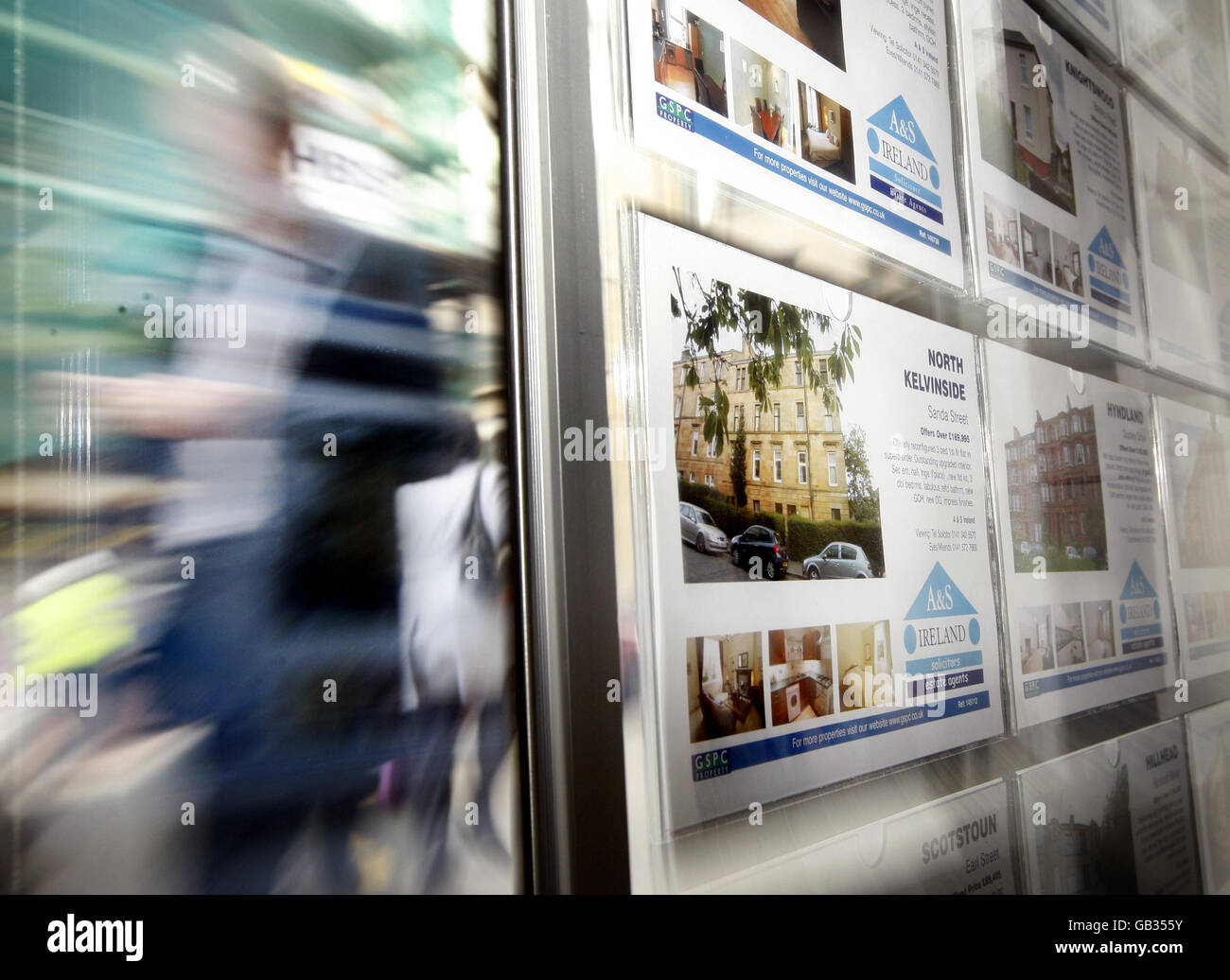Government seeks to revive housing market - Stock Image