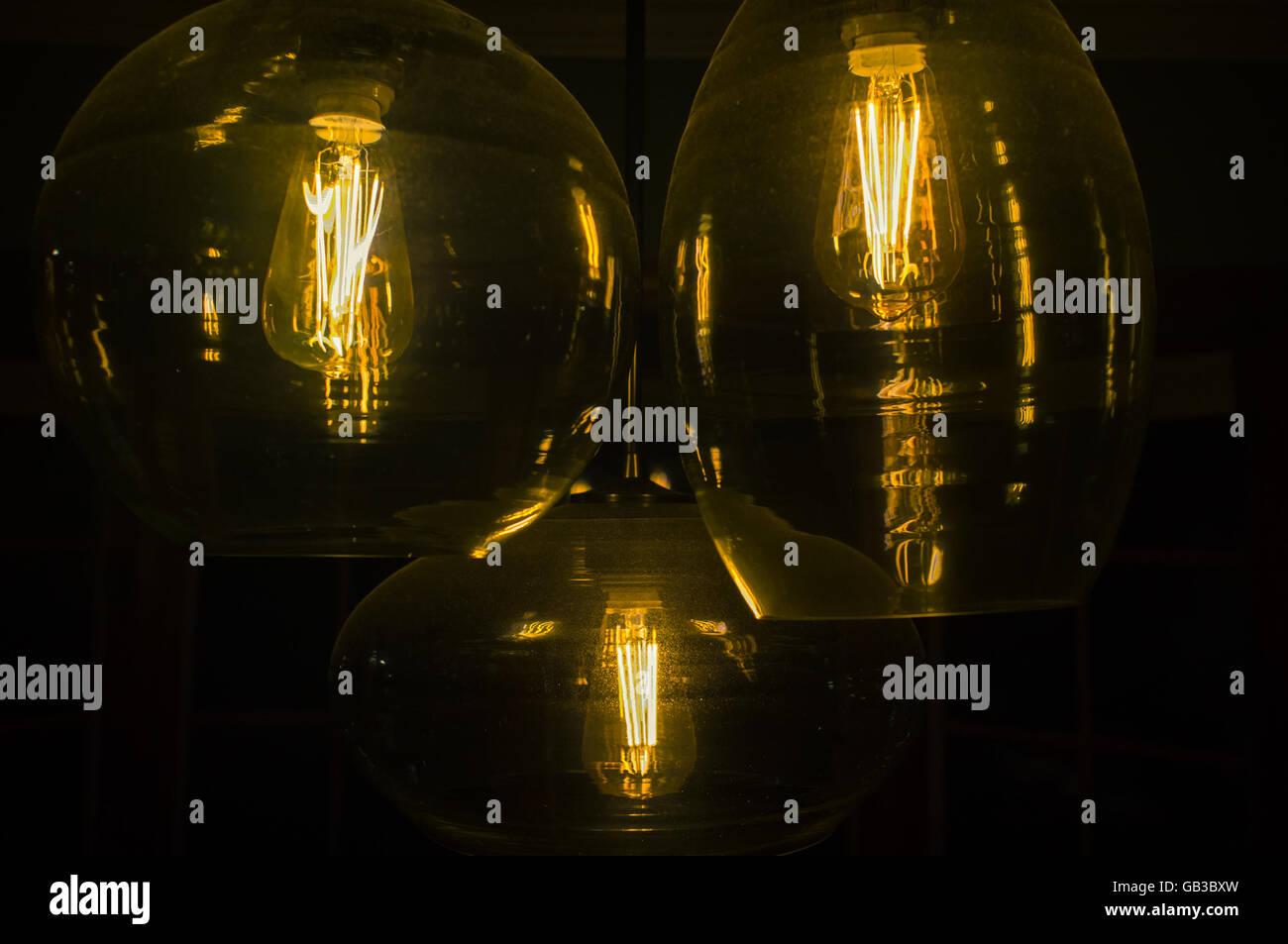 Decorative Antique Edison Style Light Bulbs Chandelier