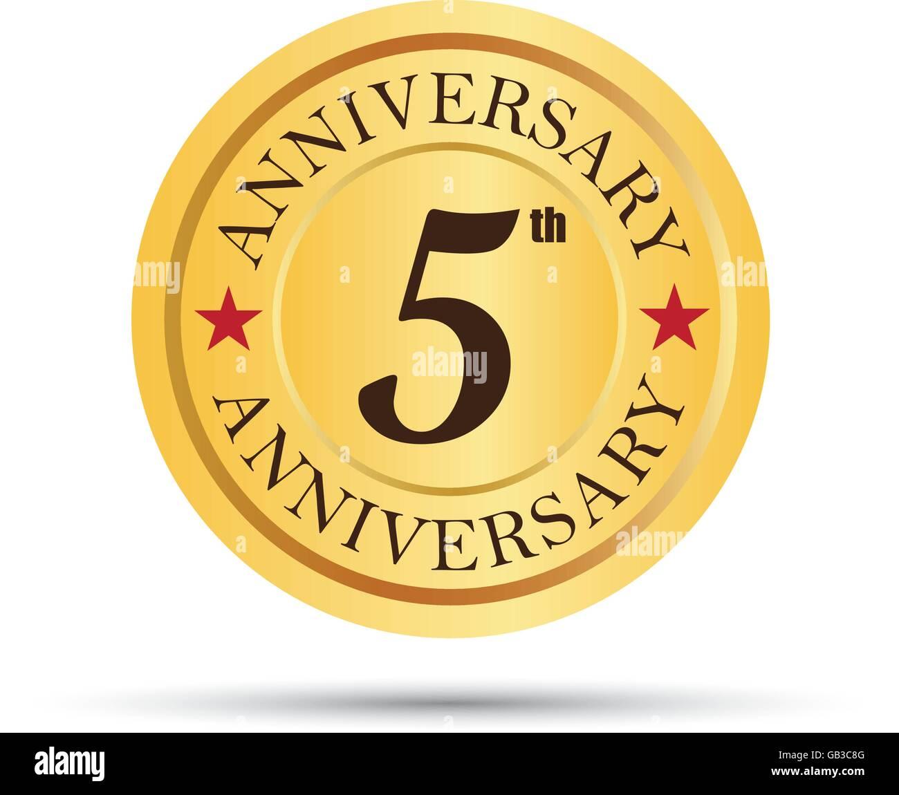 5 Years Logo Stock Photos 5 Years Logo Stock Images Alamy