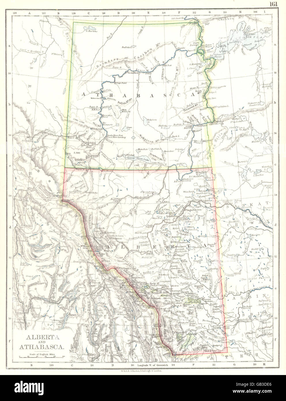 Canada Map Alberta Stock Photos & Canada Map Alberta Stock ...