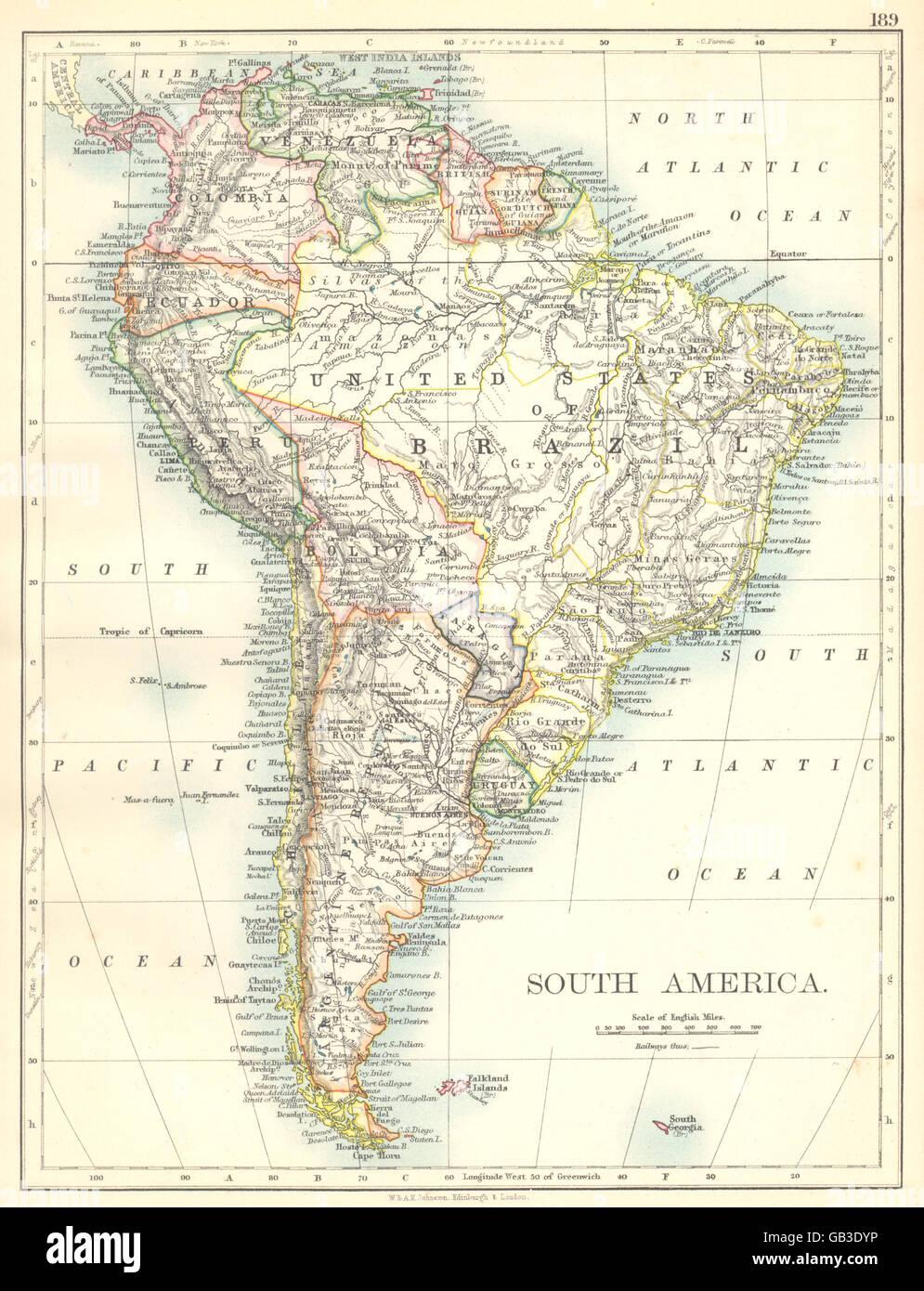 SOUTH AMERICA Brazil Argentina Peru Bolivia Paraguay Uruguay Chile