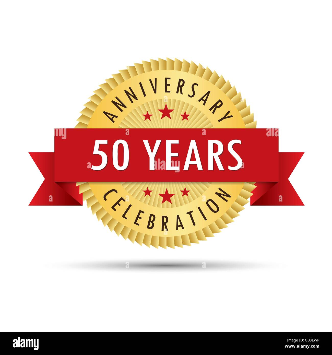 50th Wedding Anniversary Stock Vector Images - Alamy