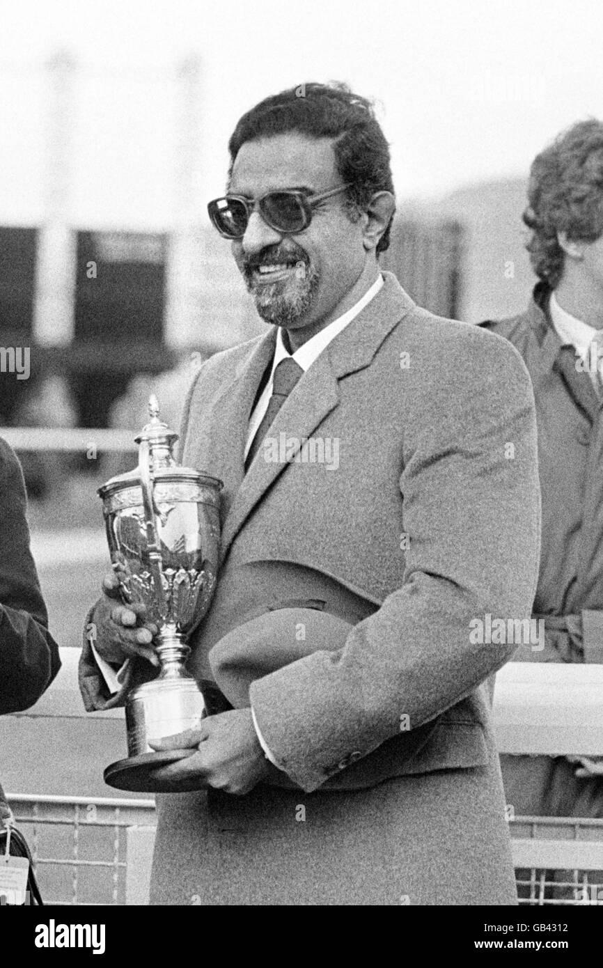Racing - The Mackeson Gold Cup - Cheltenham - Stock Image