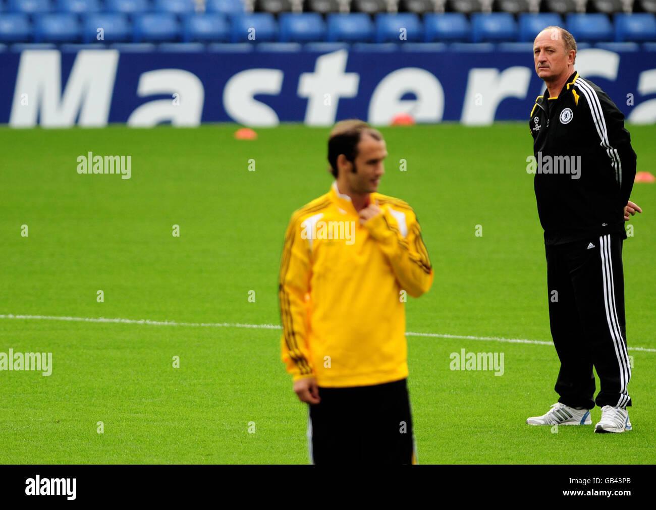 Soccer - Chelsea Training Session - Stamford Bridge - Stock Image