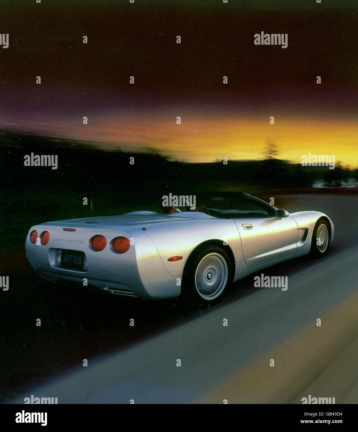 CHEVROLET CORVETTE CONVERTIBLE 1999. Photo General Motors Stock Photo