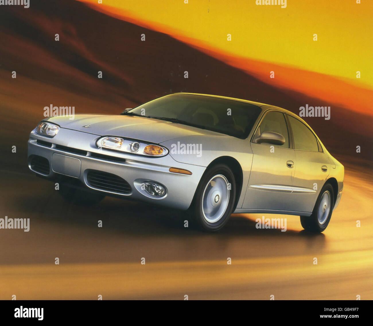 OLDSMOBILE AURORA sports sedan 1999. Photo General Motors - Stock Image