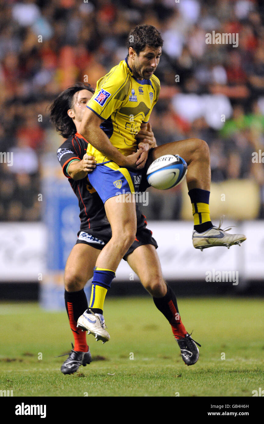 Rugby Union - French Top 14 - RC Toulonnais v ASM Clermont Auvergne - Stade Mayol - Stock Image