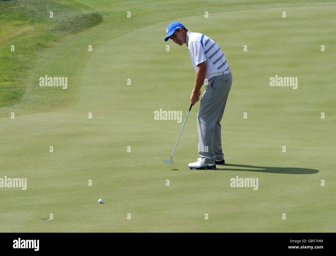 Golf 37th Ryder Cup Usa V Europe Day One Valhalla Golf Club Stock Photo Alamy