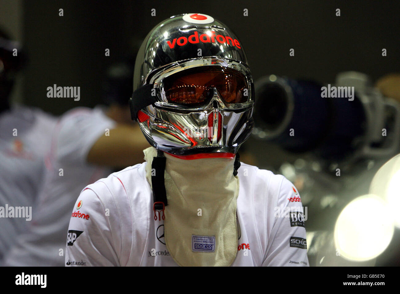 Singapore Grand Prix Vodafone Stock Photos & Singapore Grand Prix