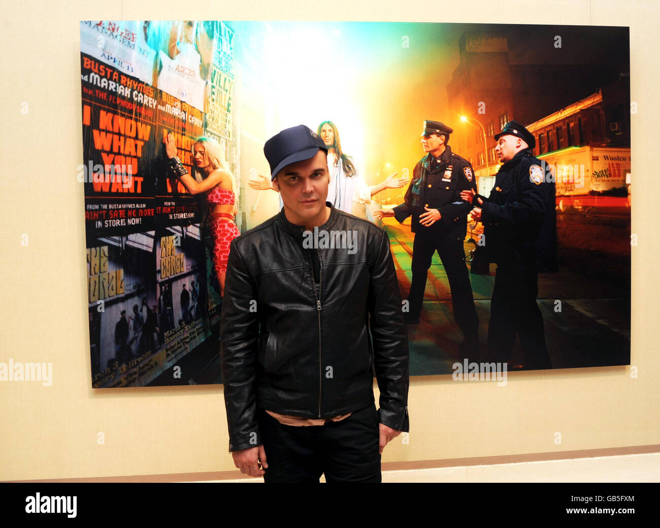 David LaChapelle exhibition private view - London - Stock Image