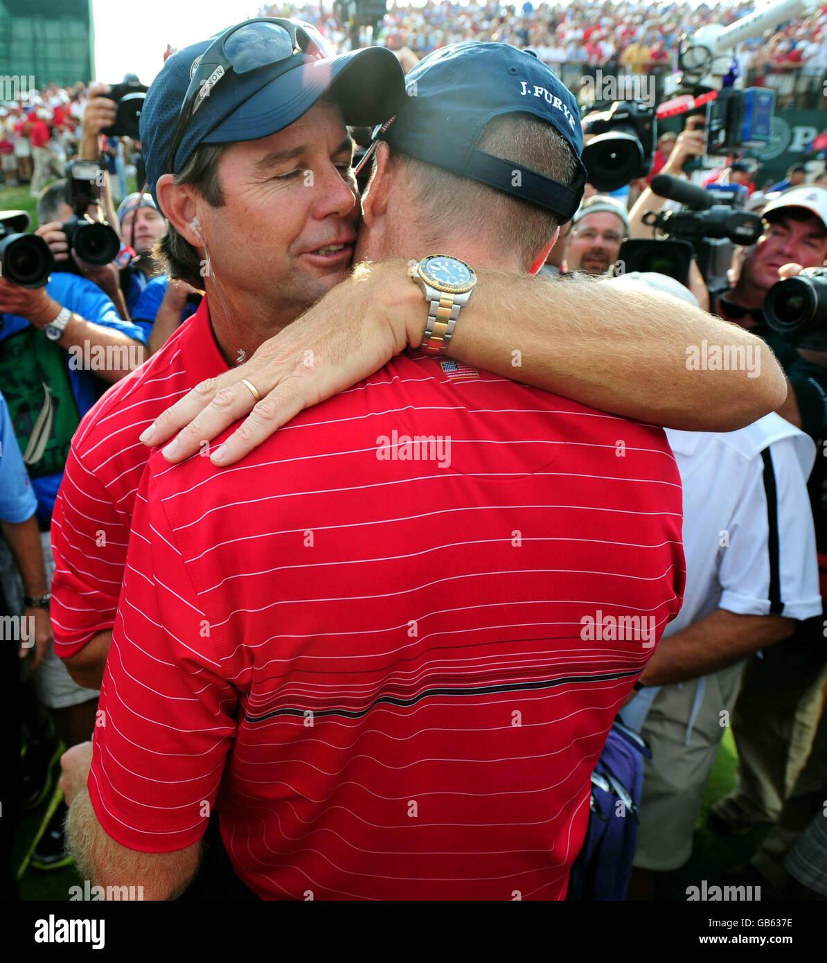Golf 37th Ryder Cup Usa V Europe Day Three Valhalla Golf Club Stock Photo Alamy