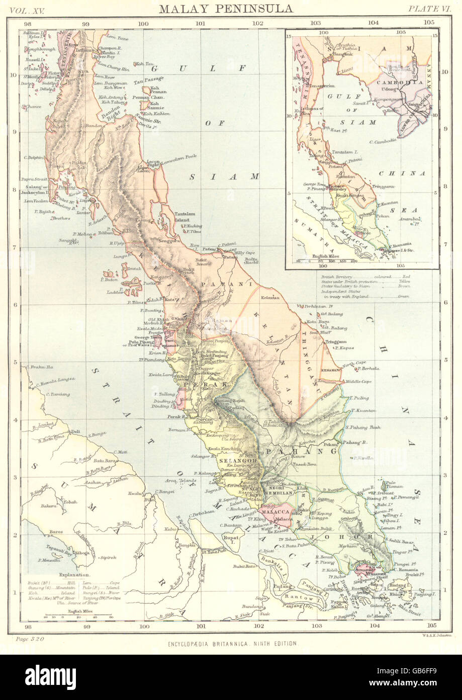 MALAY PENINSULA: Malaysia. States. Singapore; Inset Gulf of ... on sumatra map, indus river map, malay archipelago, india map, sabah map, strait of malacca, cuba map, arabian peninsula, philippines map, malaysia map, east indies, indonesia map, singapore map, gobi desert on map, east timor map, japan map, peninsular malaysia, persian gulf map, cambodia map, malay language, malay people, laos map, kra isthmus, great sandy desert map, borneo map, cape of good hope map, java on map, maldives map,