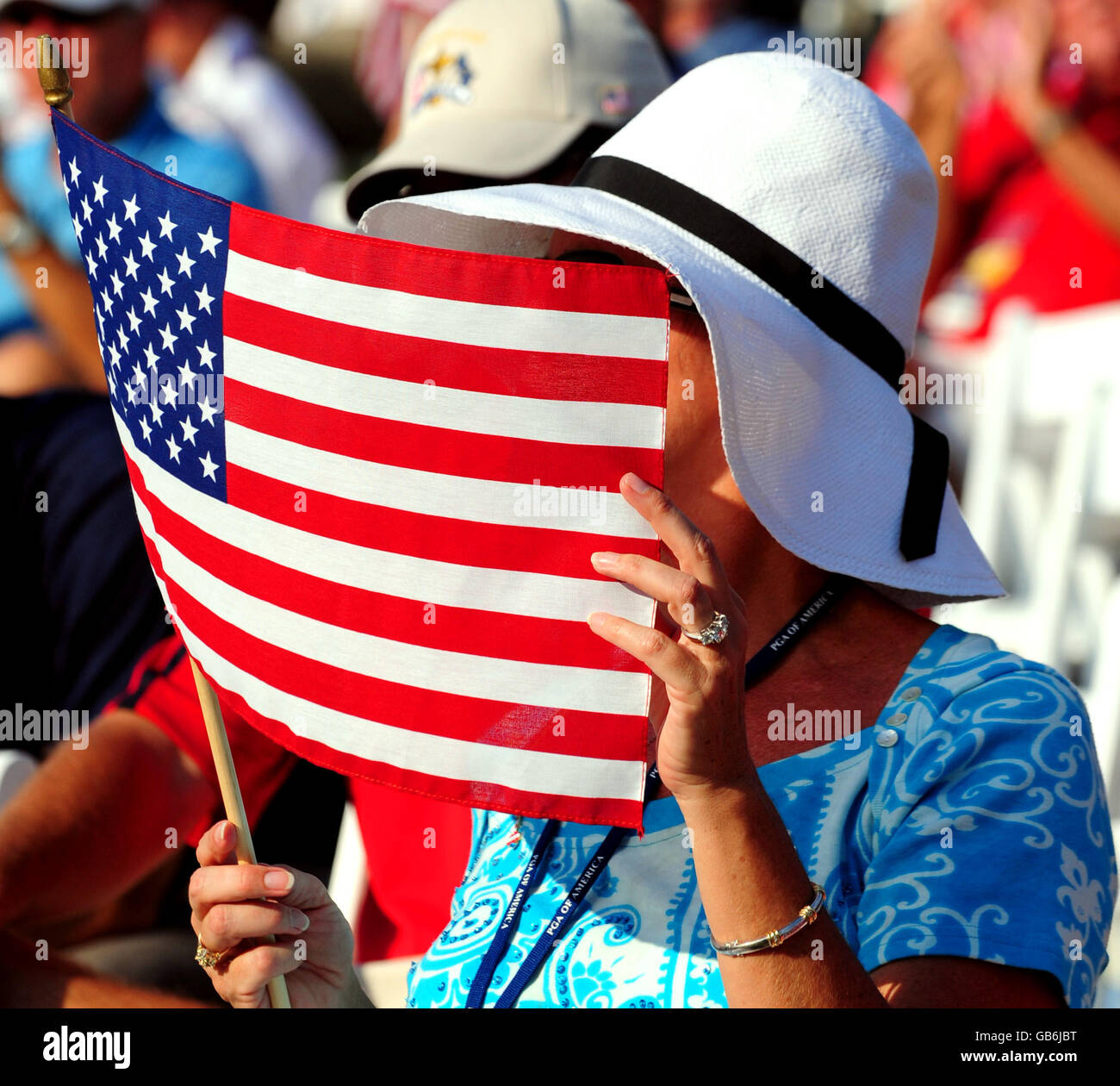 Golf 37th Ryder Cup Usa V Europe Opening Ceremony Valhalla Stock Photo Alamy