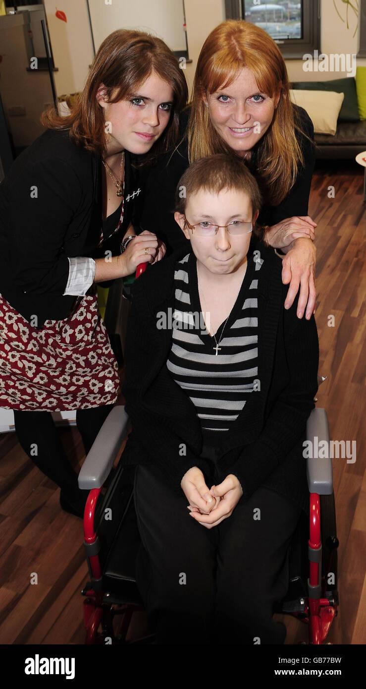 Duchess of York opens Teenage Cancer Unit Stock Photo