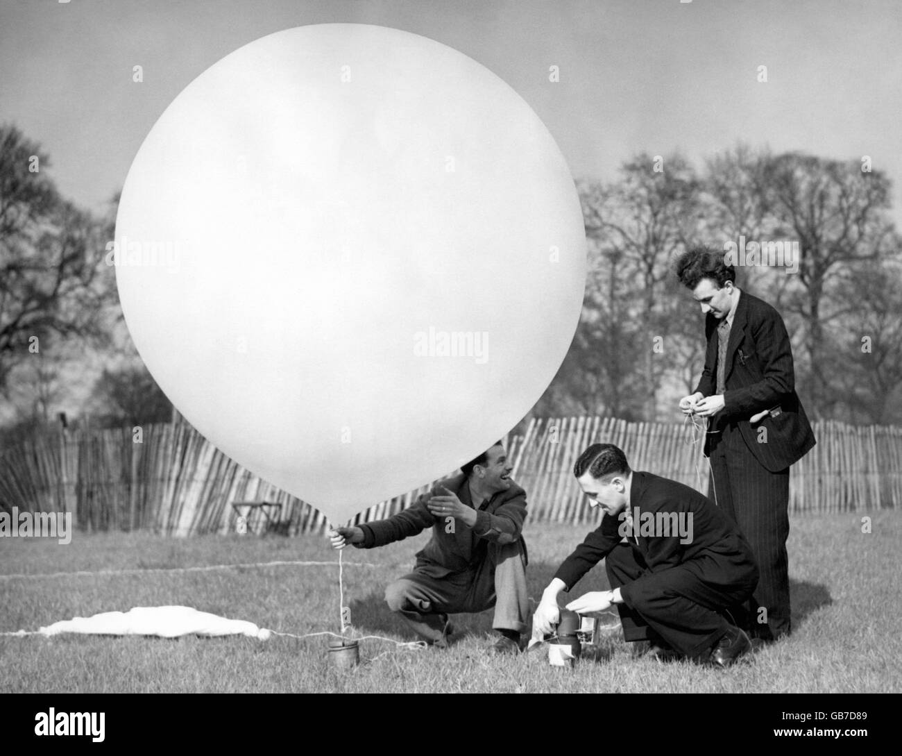 Weather - Royal Meteorological Society 100th Anniversary - Hyde Park - 1950 - Stock Image