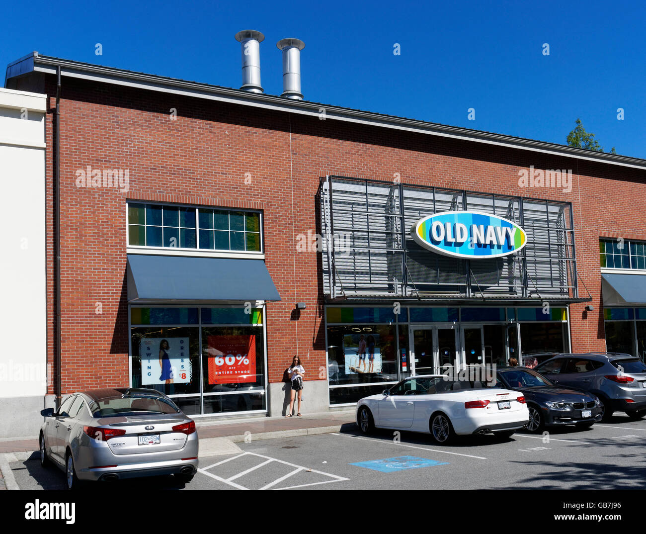 Old Navy Clothing Store At The Village Park Royal Shopping Center West Vancouver British Columbia Canada