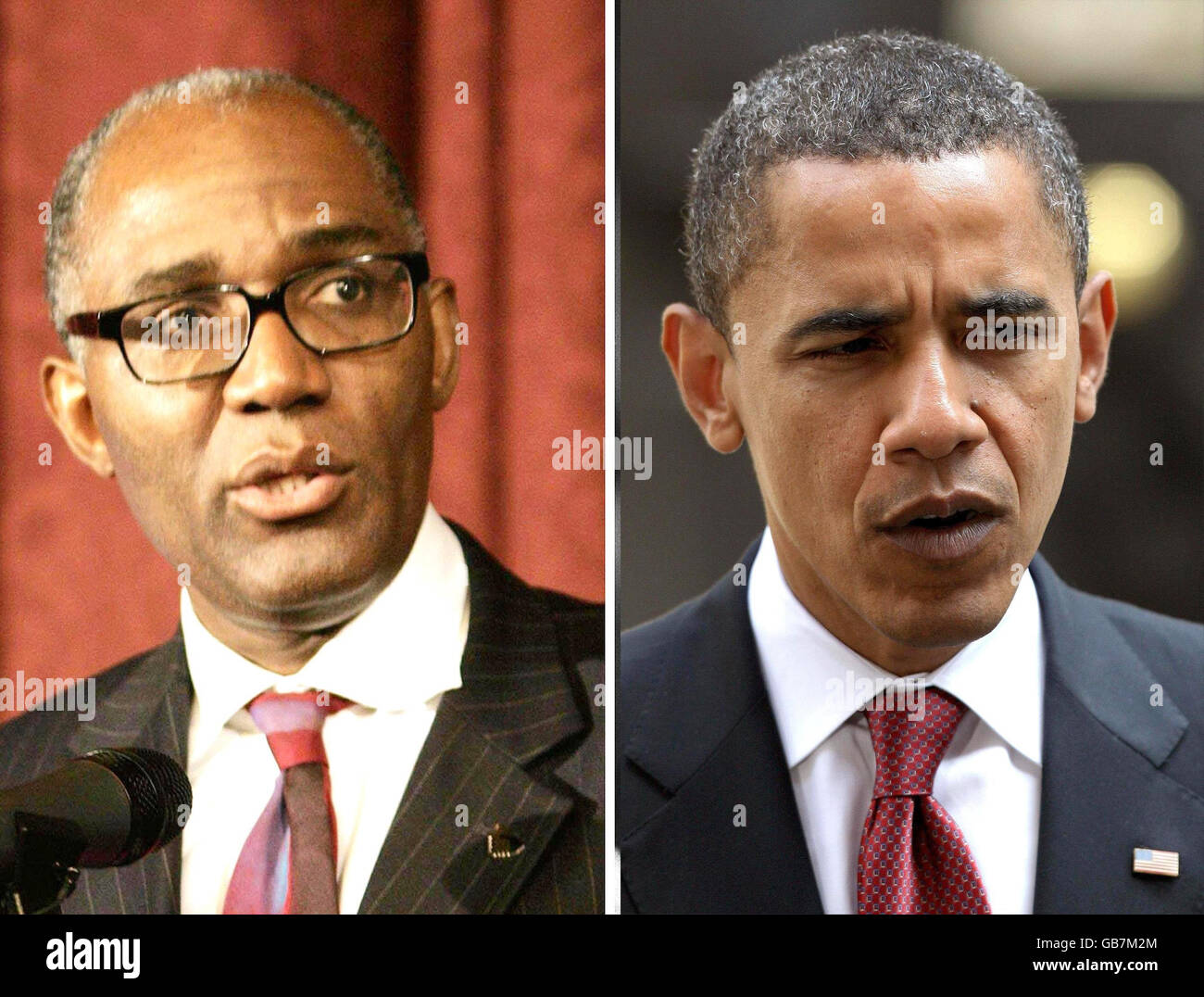 British Obama 'would be blocked by race barrier' - Stock Image