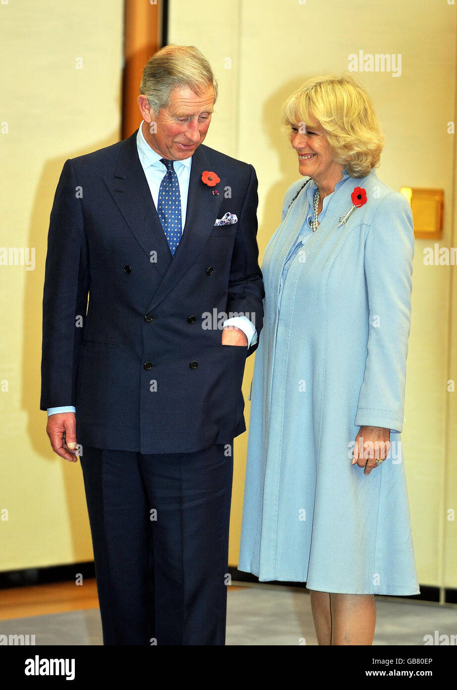 The Prince Of Wales Tour To Japan And The East Stock Photos & The ...