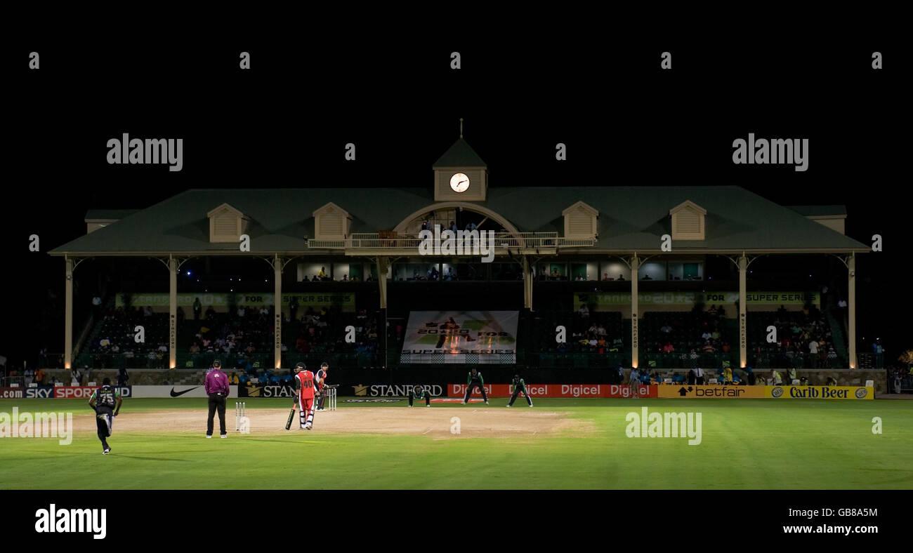 Cricket - Stanford Super Series - Stanford Superstars v