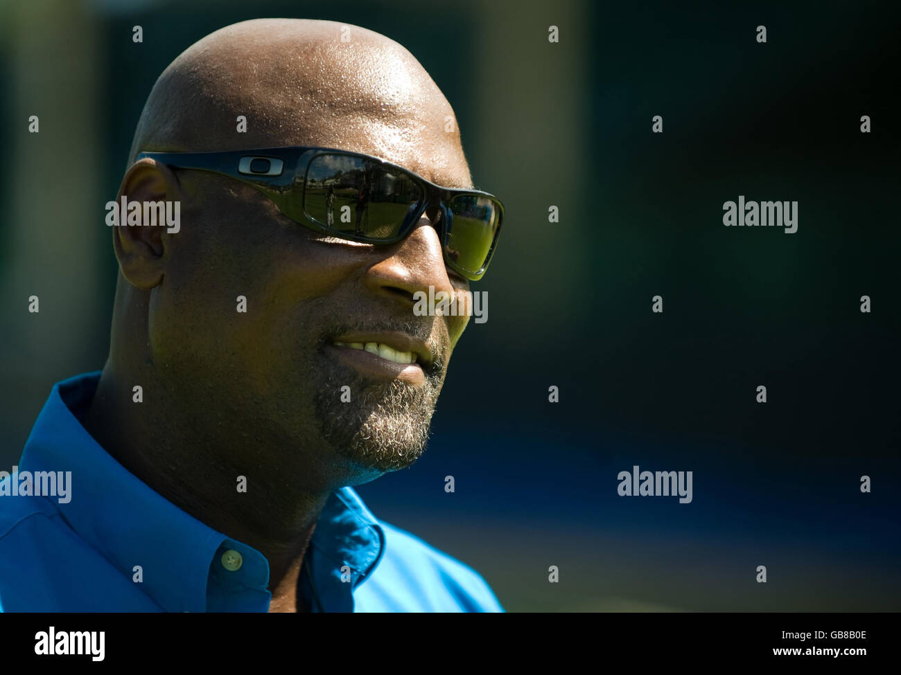 Cricket - Stanford Super Series - Viv Richards Photocall - Stanford Cricket Ground - Stock Image