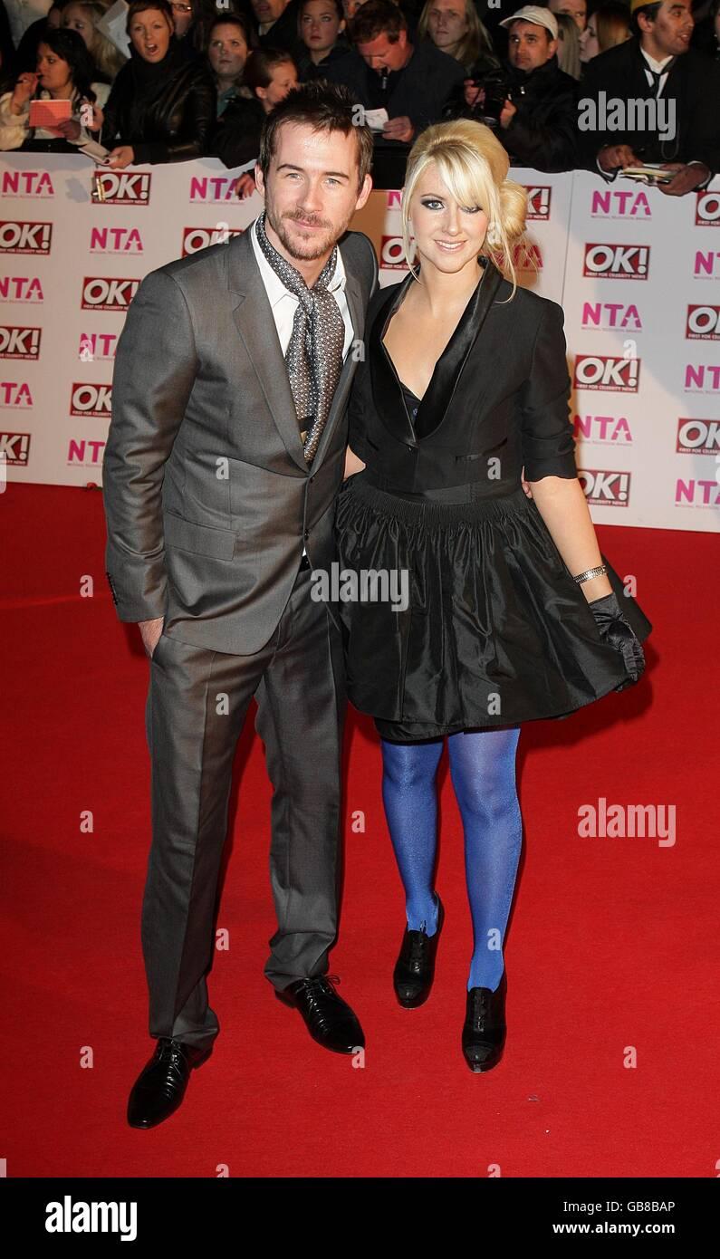 National Television Awards - Arrivals - London - Stock Image