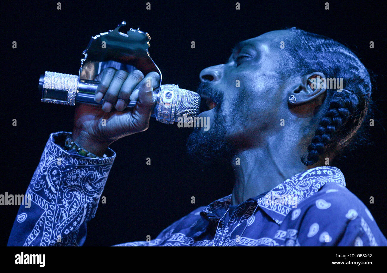 Ice Cube and Snoop Dogg Tour Perth Australia - Stock Image