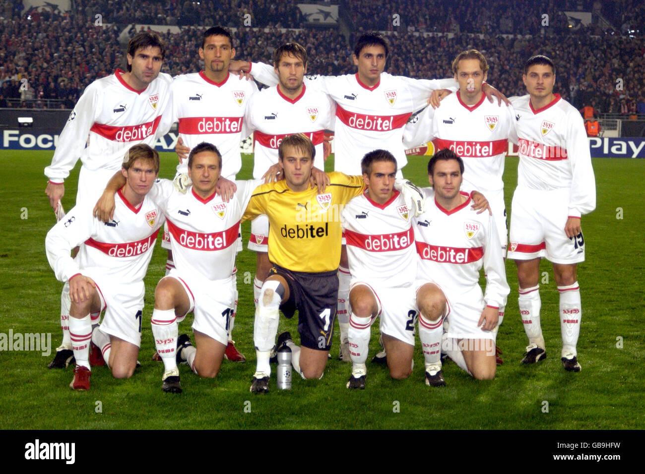 Soccer - UEFA Champions League - Group E - VFB Stuttgart v Rangers - Stock Image