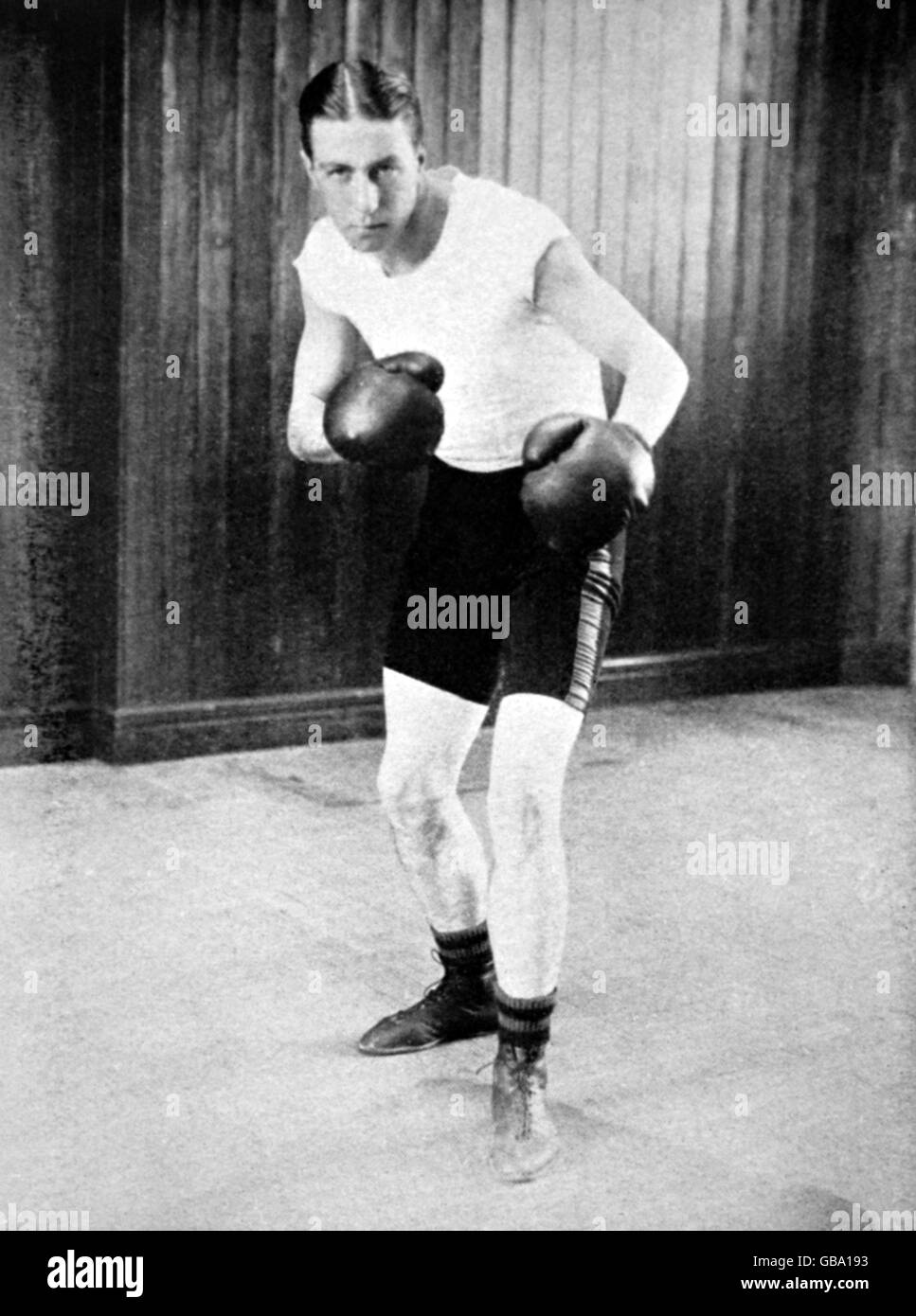Boxing - London Olympic Games 1908 - Middleweight Division - Stock Image