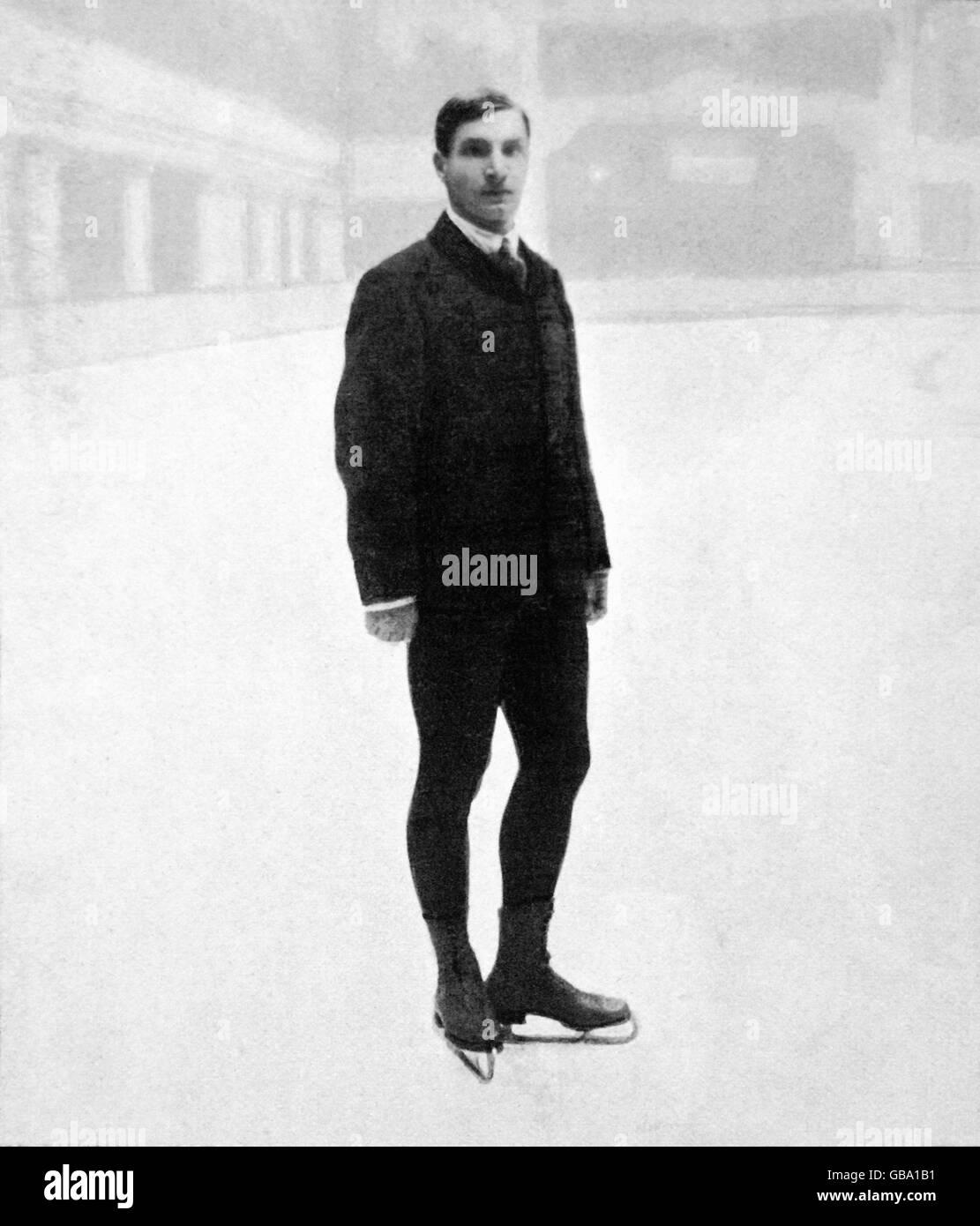 Figure Skating - London Olympic Games 1908 - Stock Image