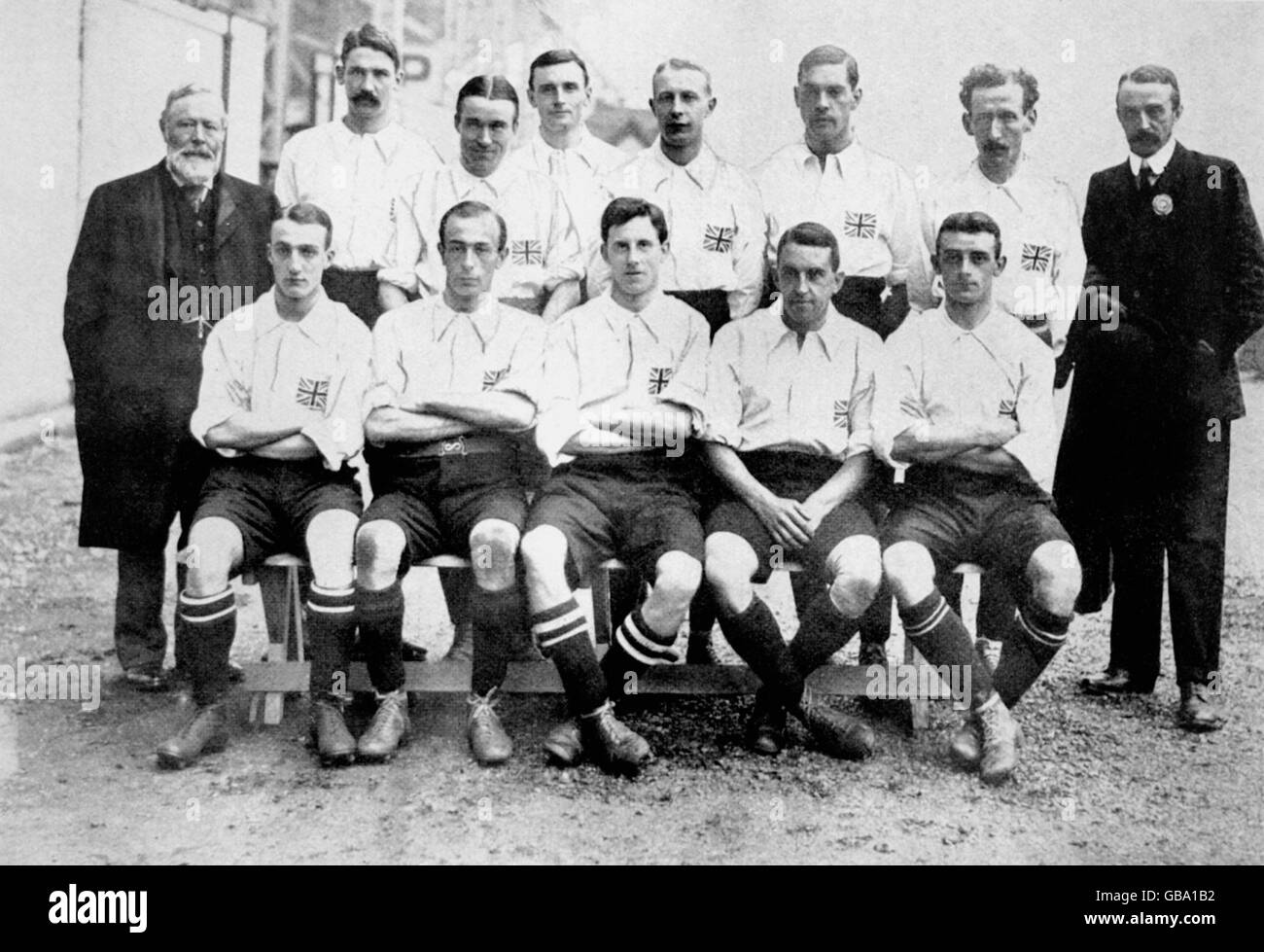 Soccer - London Olympic Games 1908 - Stock Image