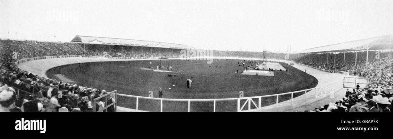 London Olympic Games 1908 - Stock Image