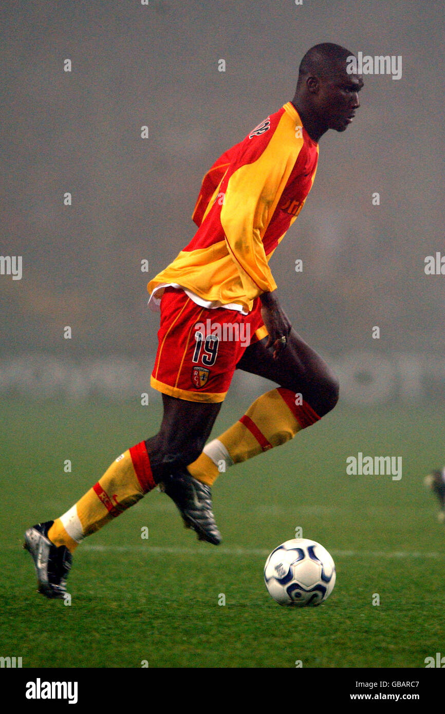 Soccer Uefa Cup Second Round Second Leg Rc Lens V Stock Photo Alamy