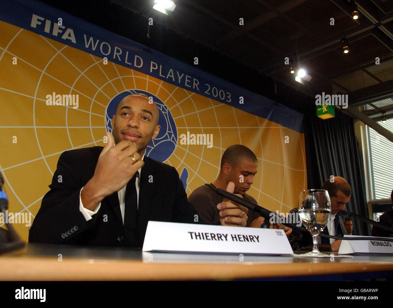 Soccer -Fifa World Player Award - Stock Image