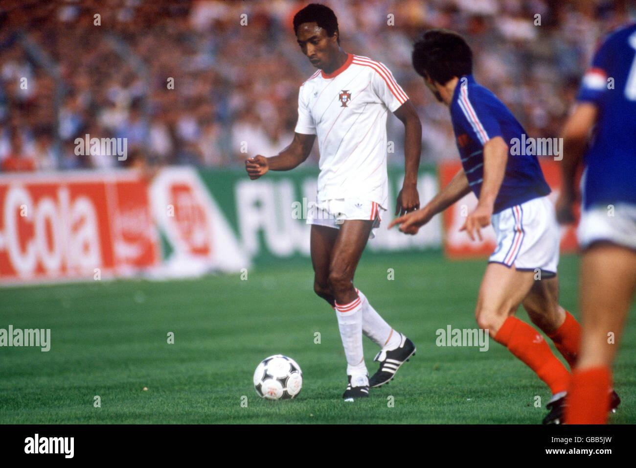 Soccer - European Championship - Semi Final - France v Portugal Stock Photo