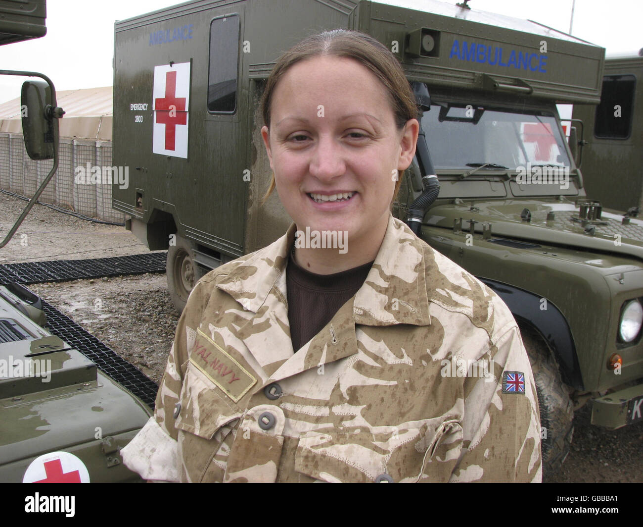 Welsh Cavalry in Afghanistan - Stock Image