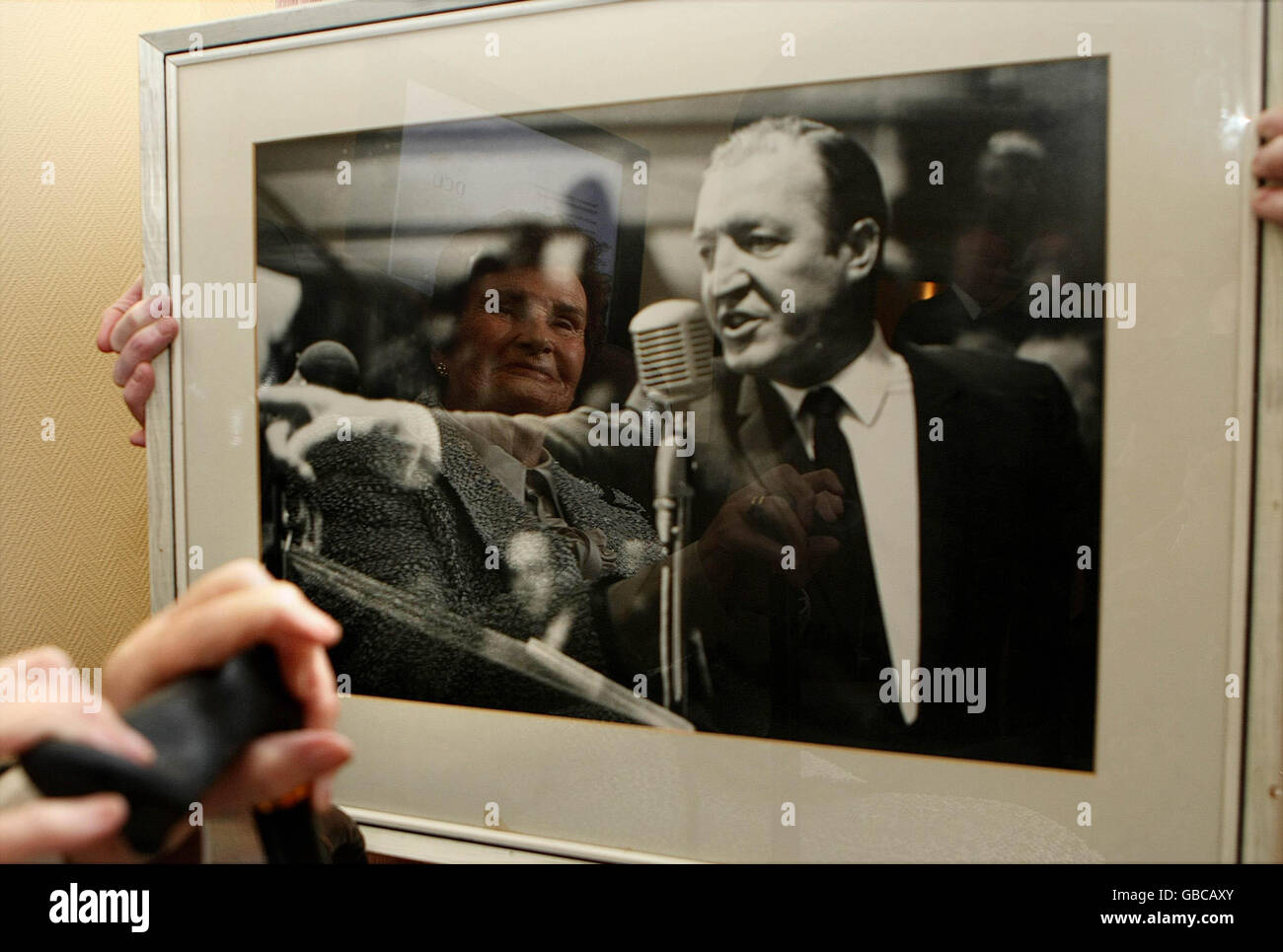 Haughey's papers received by university - Stock Image