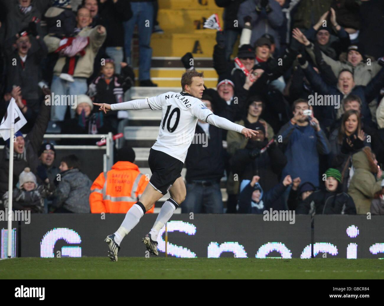 Soccer - Barclays Premier League - Fulham v Portsmouth - Craven Cottage - Stock Image