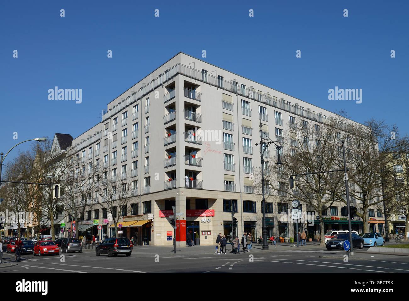 Altenheim, Pro Seniore, Kurfuerstendamm, Charlottenburg, Berlin, Deutschland Stock Photo