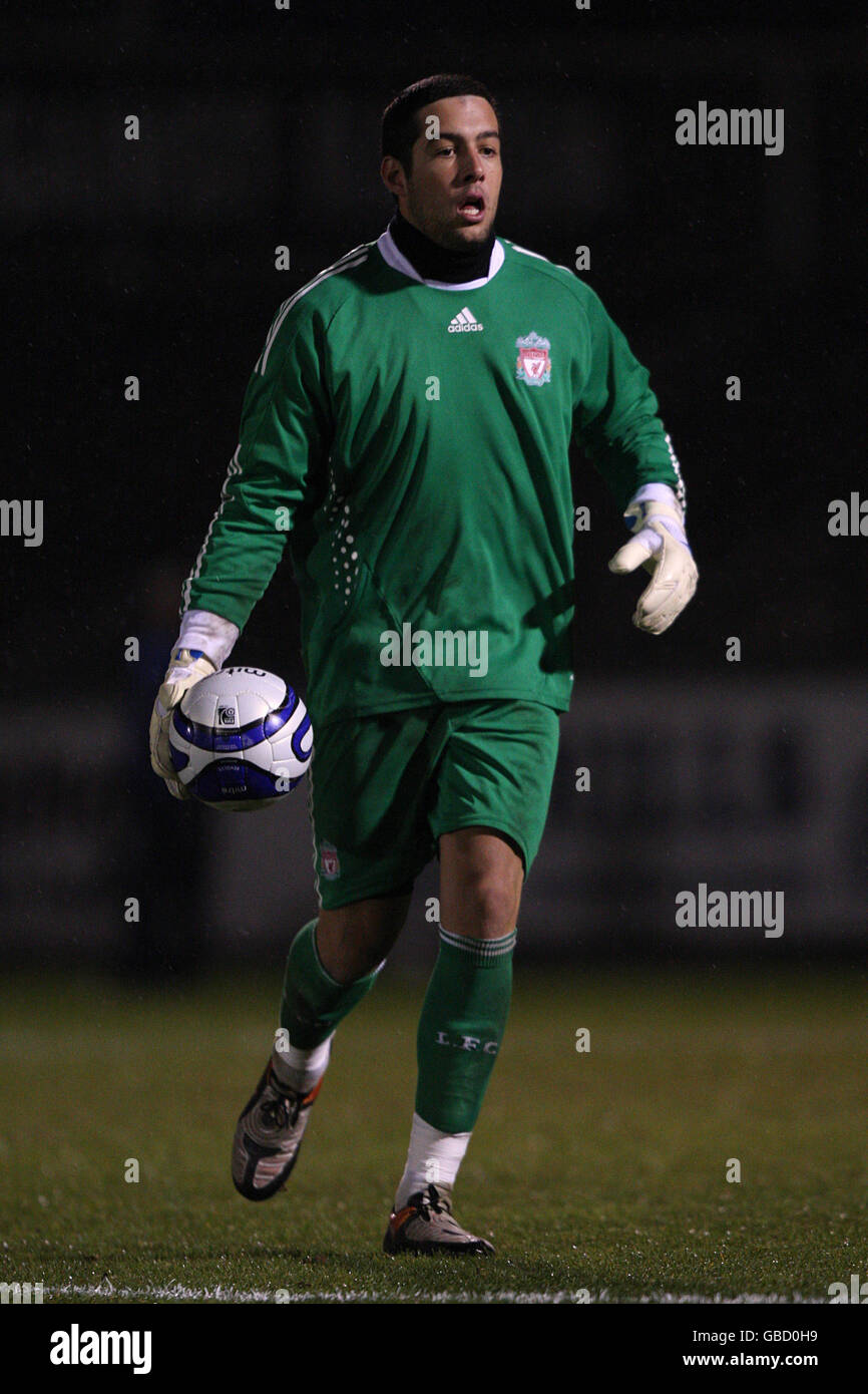 Soccer - FA Youth Cup - Fourth Round - Bristol Rovers v Liverpool - Memorial Stadium - Stock Image