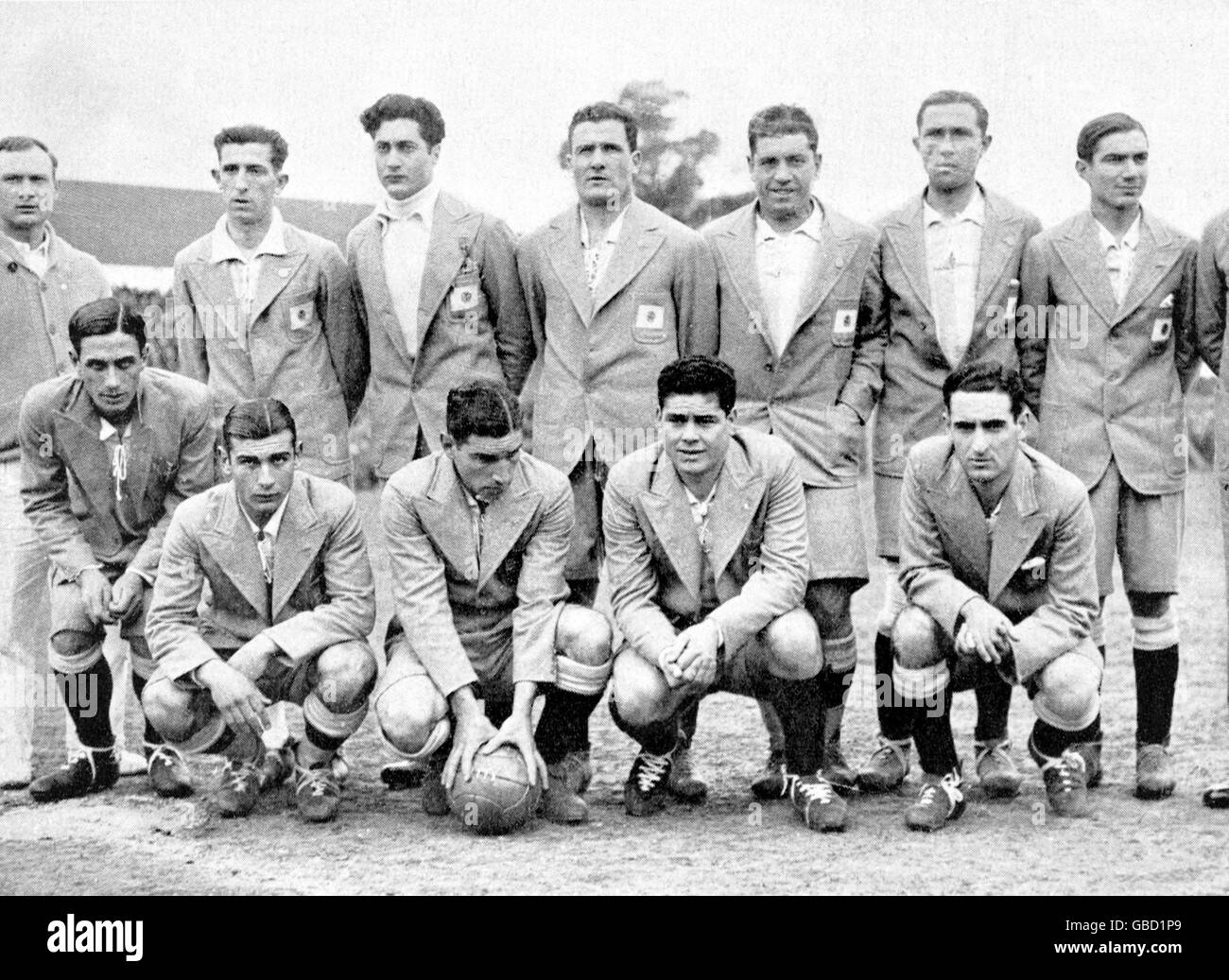 15ad73f04 Soccer - World Cup Uruguay 1930 - Group One - Argentina v France ...