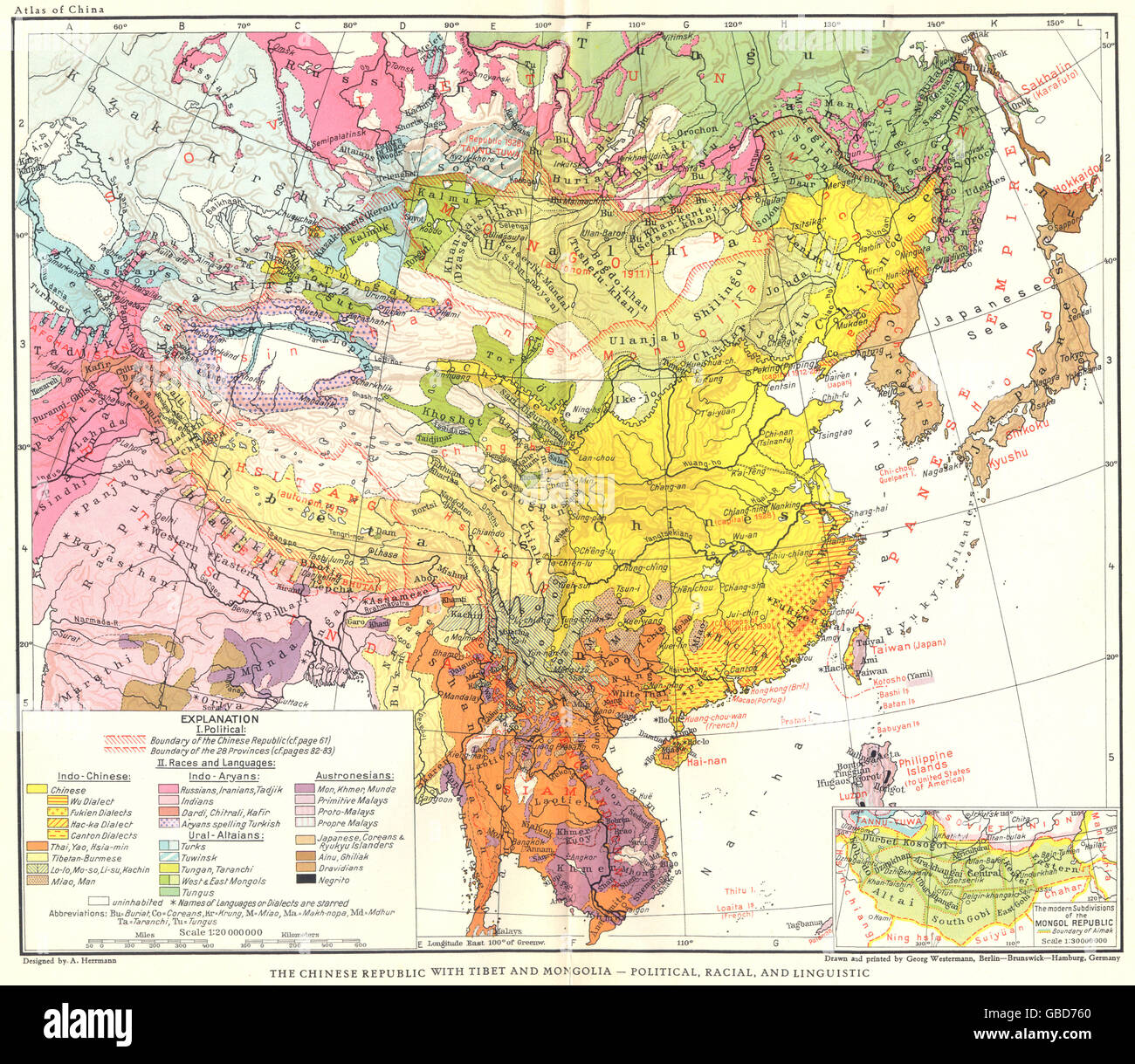 Linguistic Map Of China.China Political Map Stock Photos China Political Map Stock Images