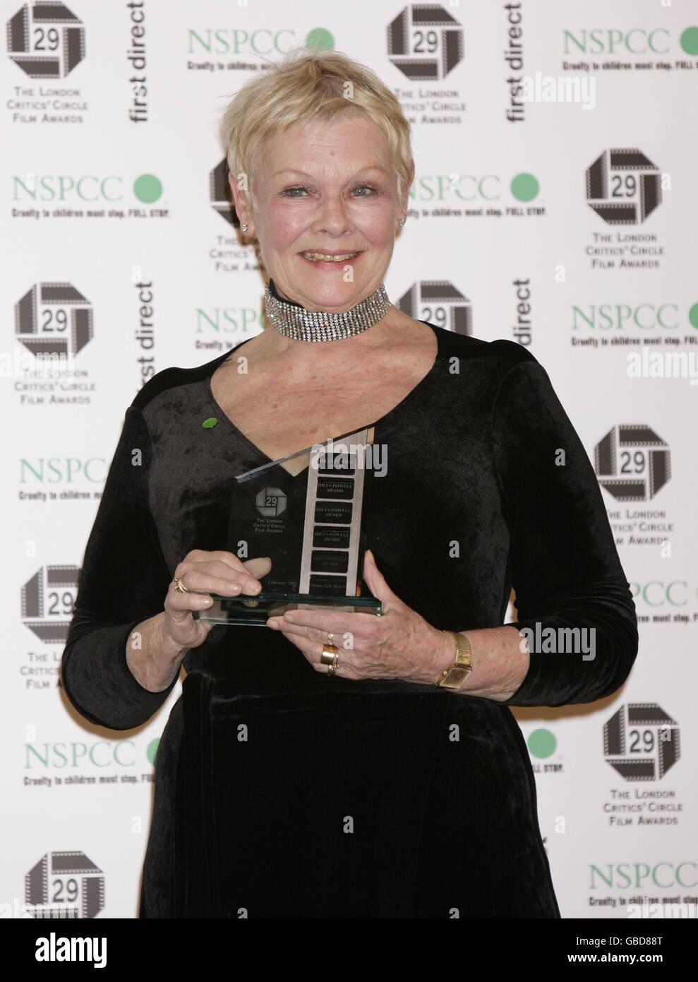 The London Critics' Circle Film Awards - London Stock Photo