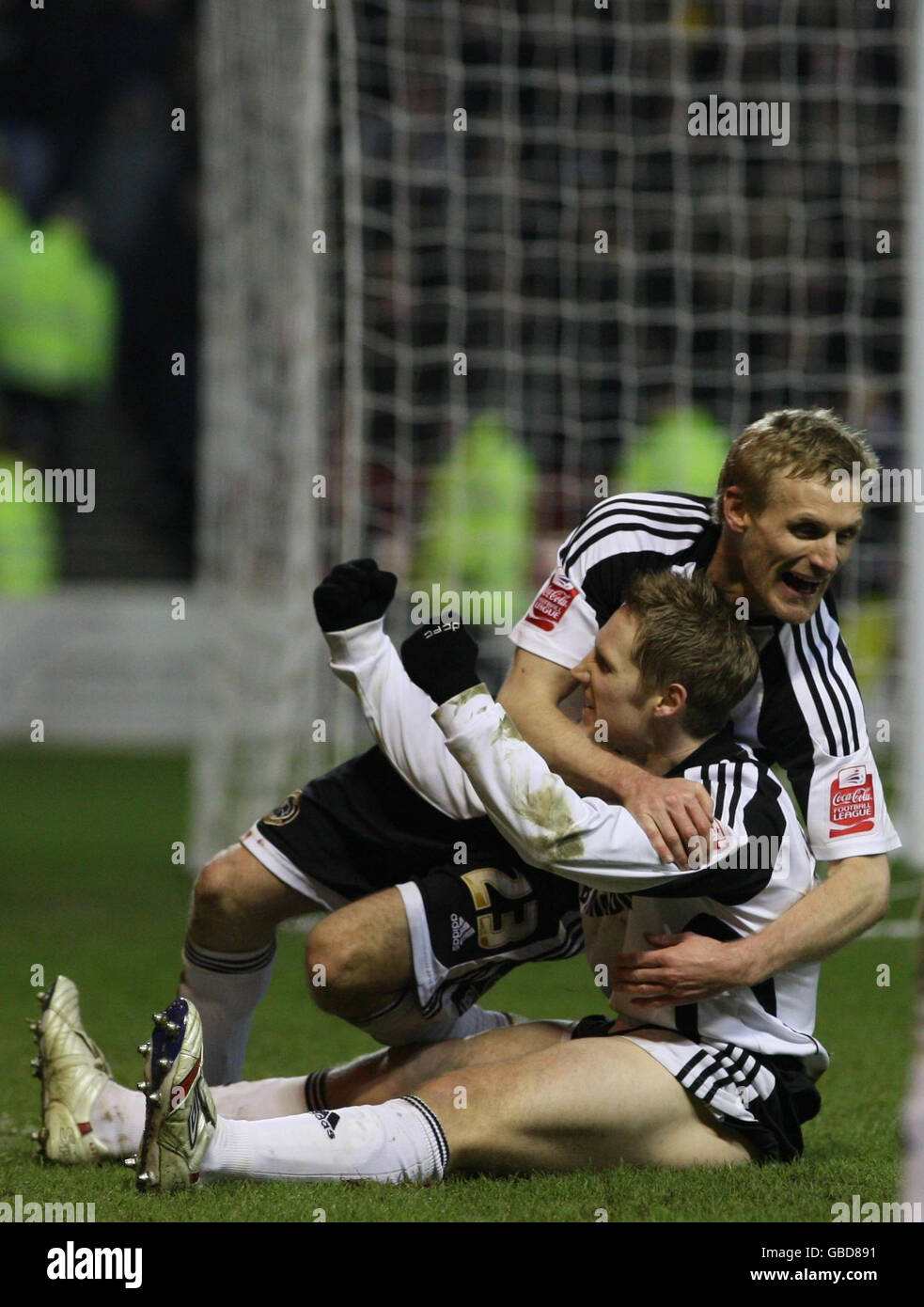 Soccer - FA Cup - Fourth Round Replay - Nottingham Forest v Derby County - City Ground - Stock Image