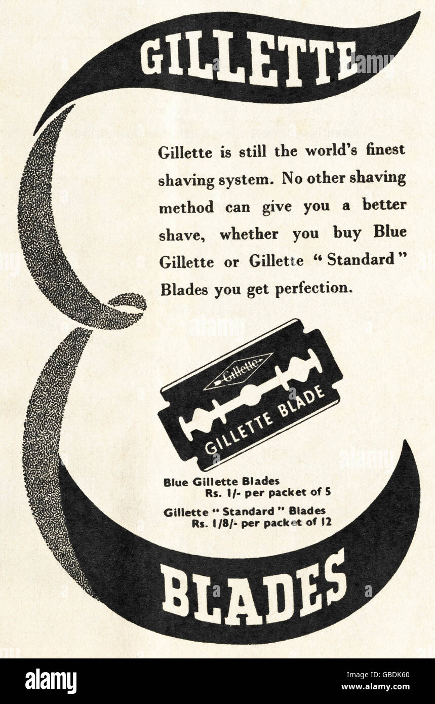 Gillette Advert Stock Photos Amp Gillette Advert Stock