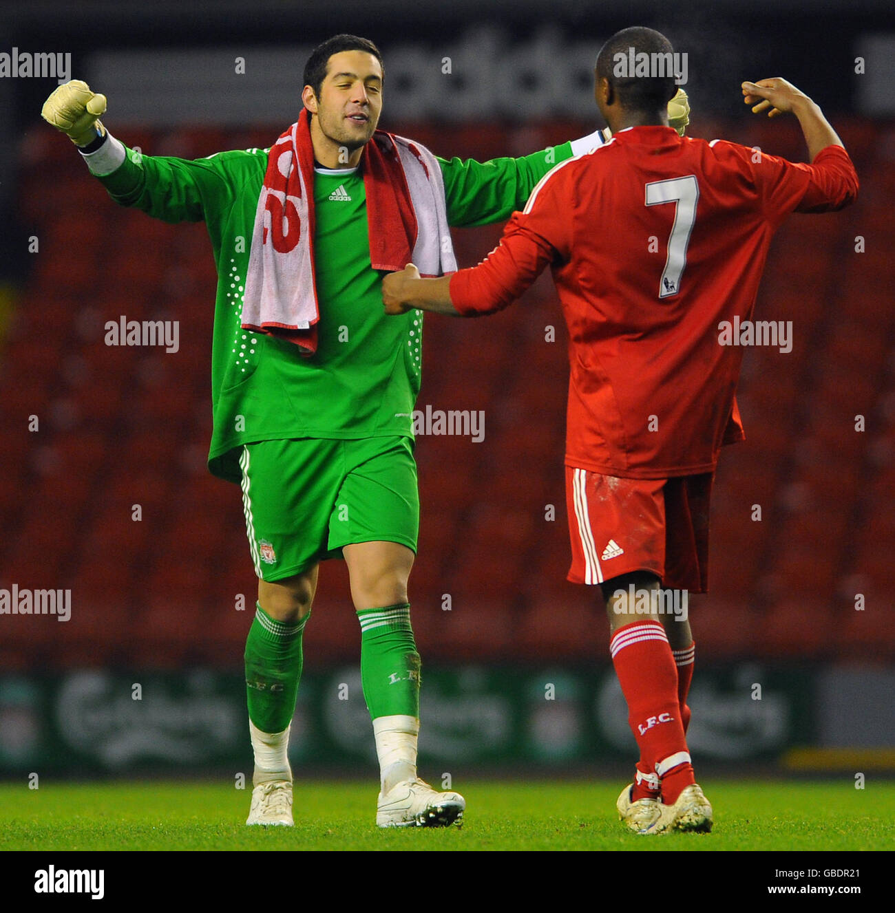 Soccer - FA Youth Cup - Fitfh Round - Liverpool v Chelsea - Anfield - Stock Image