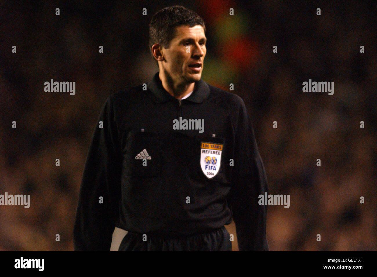 Soccer - UEFA Champions League - Quarter Final - Second Leg - Arsenal v Chelsea - Stock Image