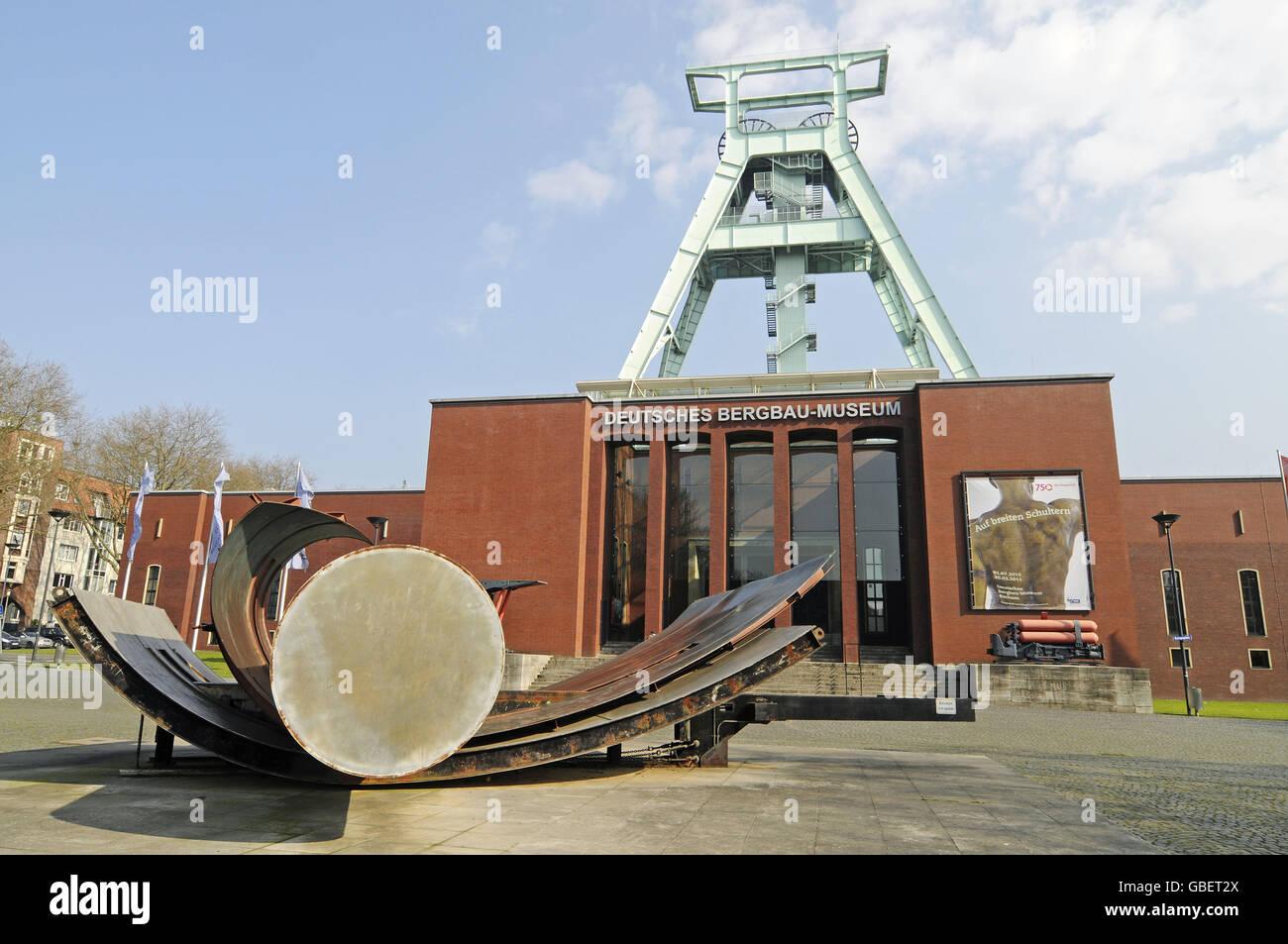 German Mining Museum, Bochum, North Rhine-Westphalia, Germany - Stock Image
