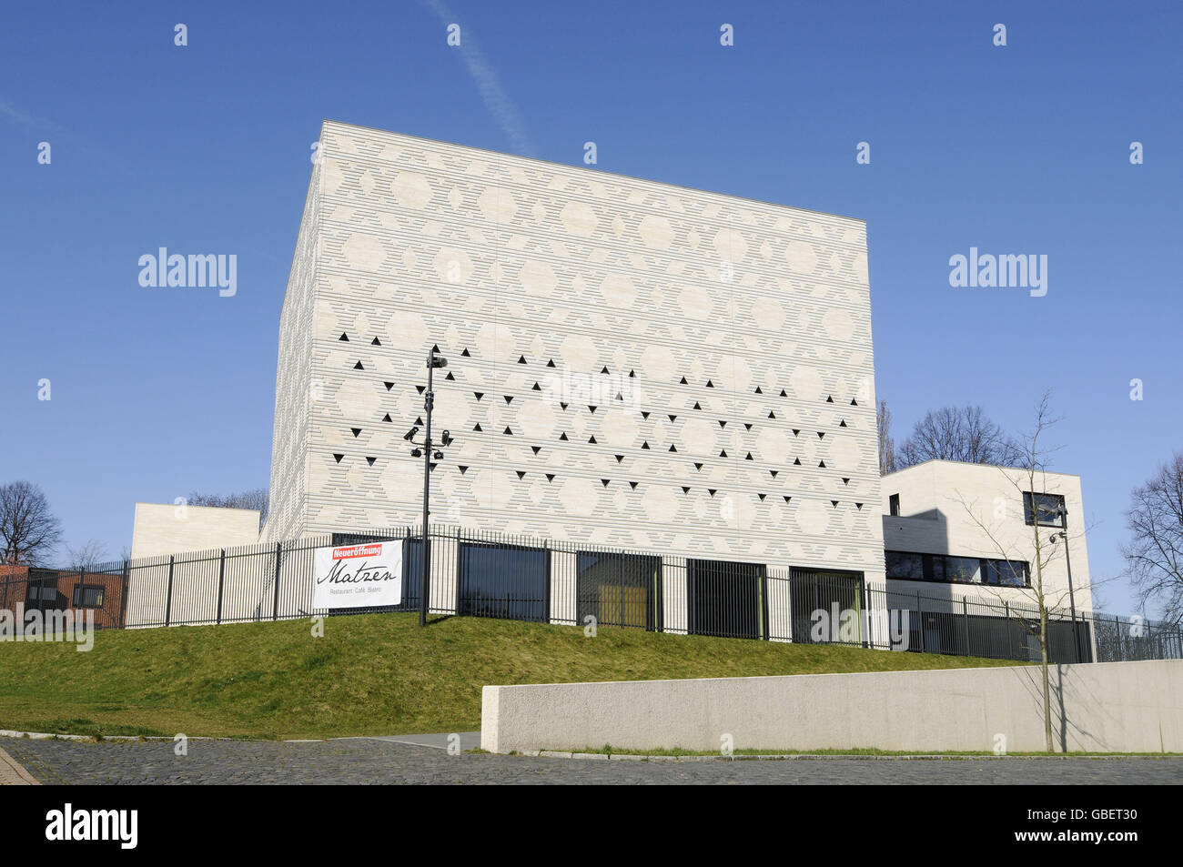 Synagogue, Bochum, North Rhine-Westphalia, Germany - Stock Image
