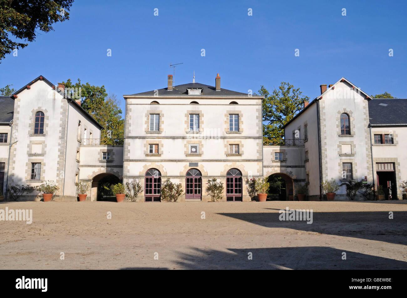 Delightful Haras National, Stud Farm, La Roche Sur Yon, Vendee, Pays
